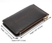 Кожаный кардхолдер/В него поместятся все ваши банковские карты/Подарок
