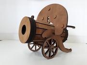 Минибар Пулемет/Отличный подарок мужчинам/Мини-бар из дерева/Hand made